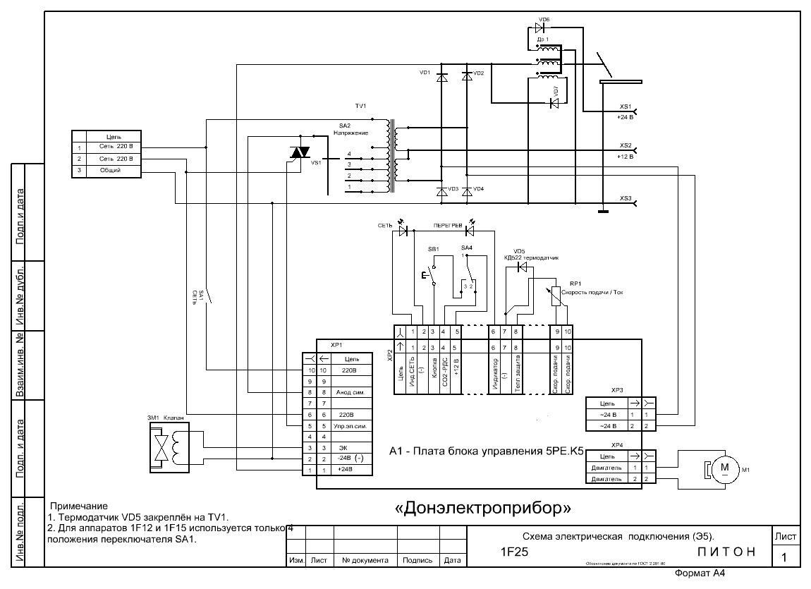 Расчет заземления сварочного трансформатора - В.