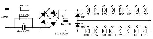 Светодиодная лента схема распайки