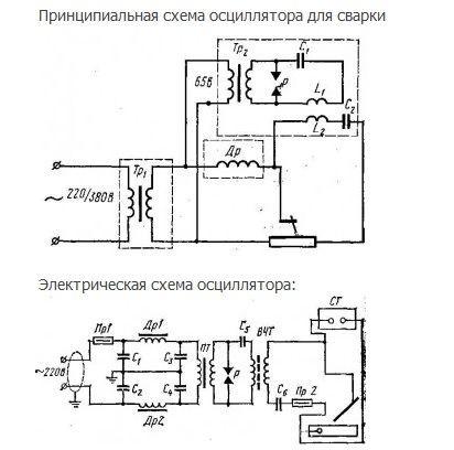 Осциллятор для алюминия своими руками 321