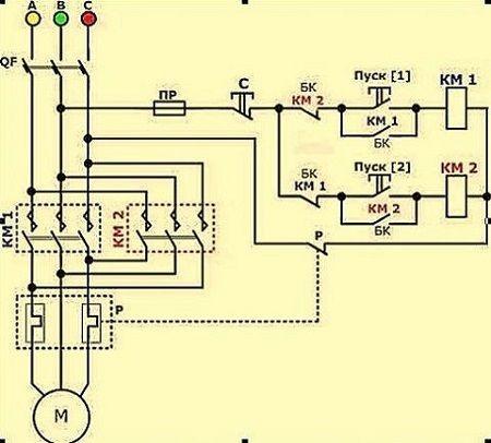 фигура схема подключения 3х фазного двигателя станка оказывать первую