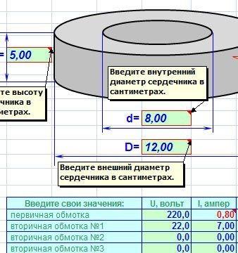Расчёт трансформатора своими руками 182