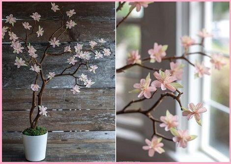 Дерево цветы своими руками