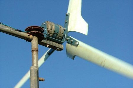 Ветряной генератор для дома своими руками