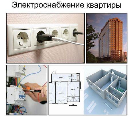 Электроснабжение квартиры