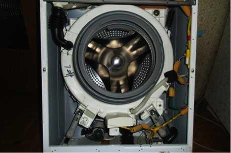 Неполадки стиральной машины занусси