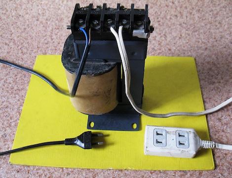 Понижающий трансформатор 220 12 своими руками