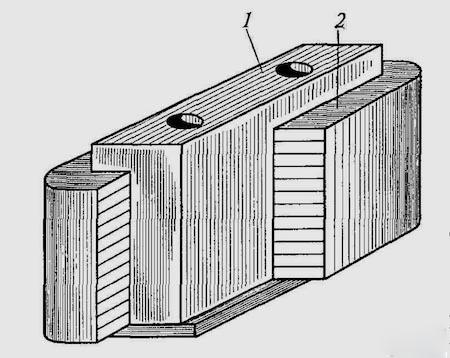 Тяговый двигатель постоянного тока