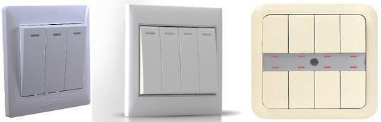 Как подключить двойной выключатель с подсветкой
