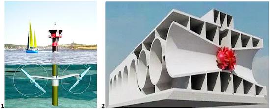 Приливные электростанции ПЭС используют энергию приливов являются одной из форм гидроэнергетики которая преобразует энергию.
