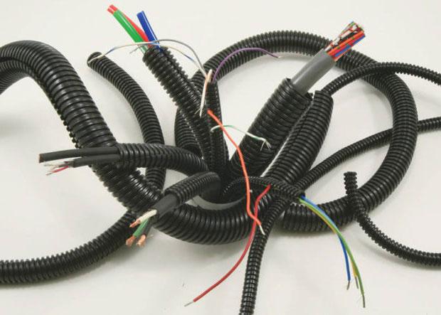 рекомендуемые диаметры гофры под кабели разных сетей и назначений
