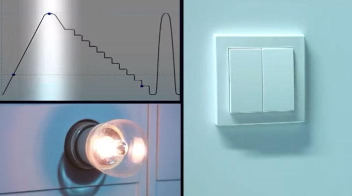 кнопки для димирования нагрузки