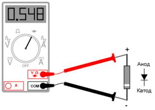 Как проверить светодиод мультиметром - все возможные способы в одной статье