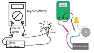 Как измерить силу тока мультиметром - инструкция с видео