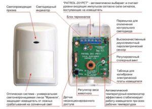 Схемы подключения и настройка датчика движения для включения освещения