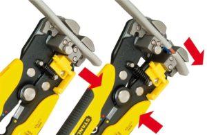 Нож с пяткой: виды инструмента для снятия изоляции и разделки кабеля