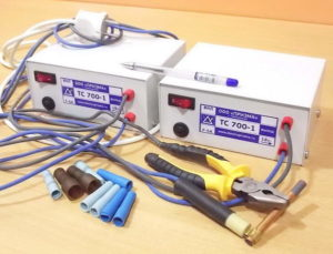 Сварка медных проводов инвертором с применением угольного и графитового электрода, и точечным методом