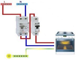 Какой кабель нужен для подключения электроплиты и духовки