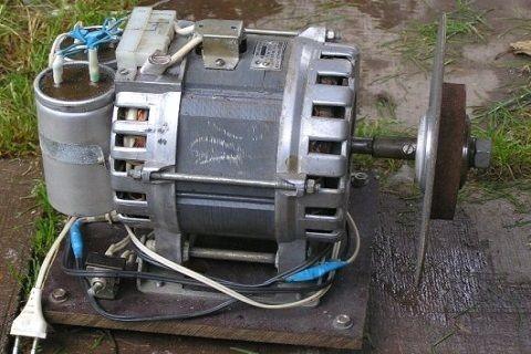 Что можно сделать из двигателя от стиральной машины
