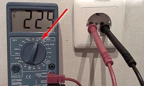 Как измерить силу постоянного и переменного тока мультиметром