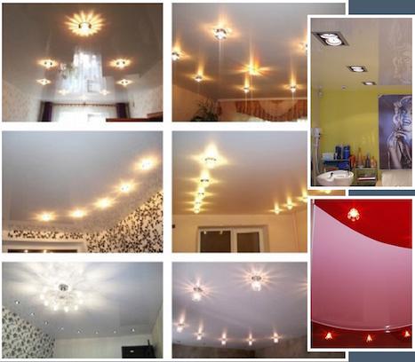 Схемы подключения и правила монтажа точечных светильников