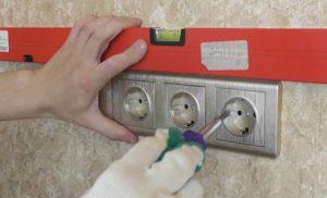 Установка розетки в бетонную стену своими руками - пошаговая инструкция