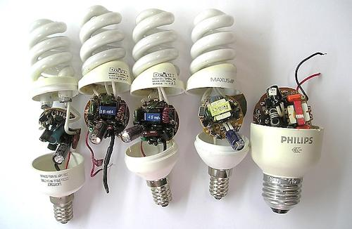Ремонт люминесцентных ламп своими руками