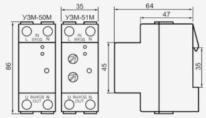 УЗМ-50 М - подключение и настройка