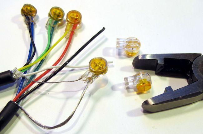 Скотчлок для витой пары - Как использовать скотчлоки для соединения проводов