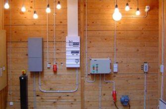 Самостоятельный монтаж электропроводки в каркасном доме