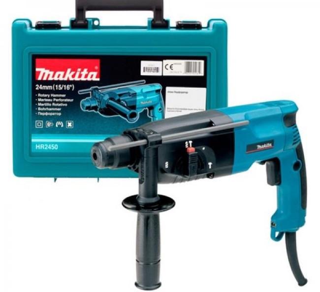 Макита HR2450 - Обзор перфоратора