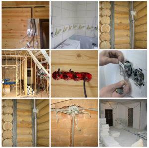Делаем электропроводку в бане своими руками: пошаговые инструкции, видео и схемы
