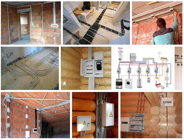 Проект электрики дома — типовые проекты электроснабжения частного дома