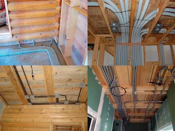 Электропроводка в деревянном доме своими руками: пошаговая инструкция, разработки схемы и рекомендации по подключению