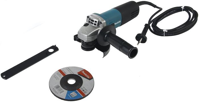 Обзор и тест угловой шлифмашины Makita 9558HN