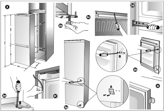 Установка холодильника по уровню: как правильно его подключить, отрегулировать