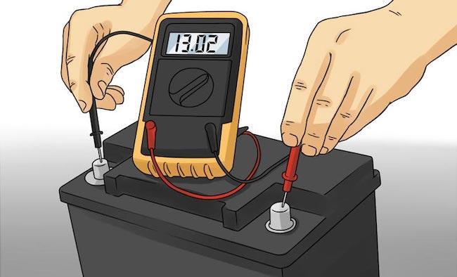 Как проверить аккумулятор автомобиля мультиметром на работоспособность дома без приборов: как узнать заряд и ёмкость тестером, измерить напряжение и силу тока