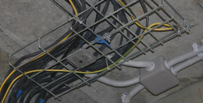 Заземление кабельных лотков: требования, нормы, инструкция